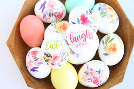 paper easter eggs beautiful floral easter eggs using tattoo paper it s always autumn