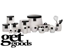 black kitchen canisters black and white kitchen decor black and white kitchen canisters