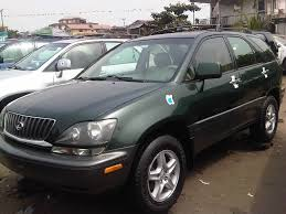 lexus rx300 navigation sparklean and xcellent sharp tokunbo lexus rx300 accident free