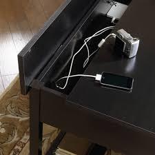 sauder edge water computer desk sauder edge water hutch style computer desk estate black desk ideas