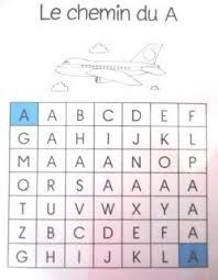 le cartable de skalasanta le chemin des lettres maternelle