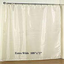 Wide Fabric Shower Curtain Wide Fabric Shower Curtain Liner 108 X72 Marburn Curtains