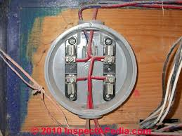 how to inspect electric meters electrical capacity or size how