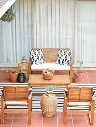patio furniture from wayfair my indian summer patio project art