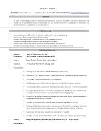 ranjeet resume industrial