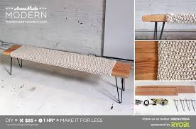 Easy Outdoor Wood Bench Plans by Homemade Modern Ep28 Wood Wool Bench