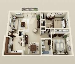 2 Bedroom Designs 2 Bedroom House Plans 3d View Adorable Home Bedroom Design 2