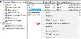 how to assign a static usb drive letter in windows 7 pindigit