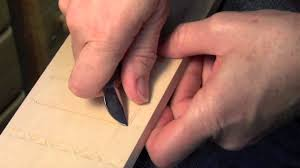 Wood Carving Ideas For Beginners by Chip Carving Tips For Beginners Youtube