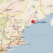map of camden maine kate and tom s wedding travel hotels map of new