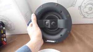 Top Rated Ceiling Speakers by Bose 791 Sii 591 Virtually Invisible Speakers Altavoces Youtube