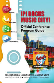 2016 ipi conference u0026 expo official program guide by international