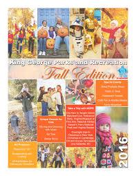 spirit halloween fredericksburg va fall winter 2016 king george va parks u0026 recreation brochure by