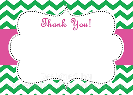 personalized folded or flat thank you note cards