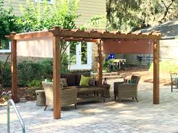 deluxe pergola replacement canopy garden winds