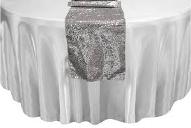 runner sequins irent everything with silver sequin table runner