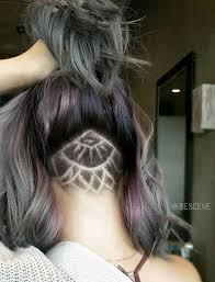 long hair over 45 45 undercut hairstyles with hair tattoos for women undercut