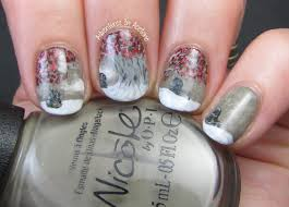 game of thrones weirwood tree nail art adventures in acetone