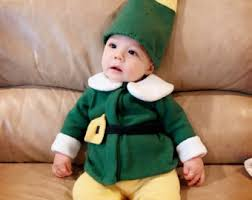 Newborn Boy Halloween Costumes 0 3 Months Baby Elf Costume Etsy