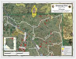 Wildfire Map 2017 Fire Activity Big Cypress National Preserve U S National