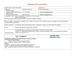Spreadsheet Lesson Plans For High by Lesson Plan By Chandra Issuu
