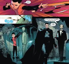 the sons of batman and superman make a brilliant team kotaku