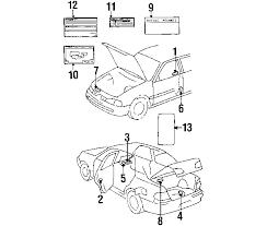 1998 toyota corolla engine diagram 1998 toyota corolla parts oem toyota parts toyota accessories