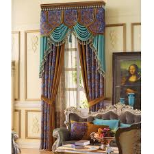 thick velvet curtains victorian style fabric