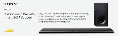 amazon black friday sony 4k amazon com sony htct790 sound bar with 4k and hdr support home
