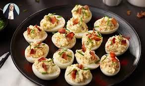 deviled egg dishes s heavenly deviled eggs egg