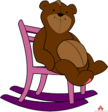 Wooden Chair Clipart Png Bear Clipart Sitting On Chair Free Clipart Design Download