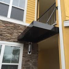Standing Seam Awnings Standing Seam Metal Awning Copper Penny Barfield Fence And