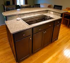 kitchen island with cook top in bel air md kitchens pinterest