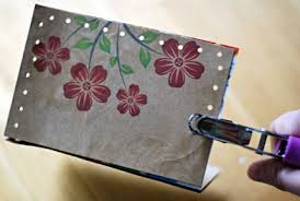 how to make three greeting cards with recycled materials