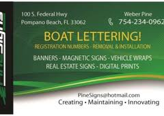 a pine signs u0026 boat letters inc pompano beach fl 33062 yp com