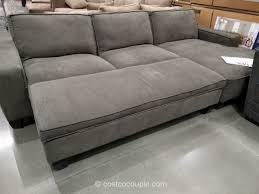 Storage Ottoman Fabric Fabric Chaise Sofa With Storage Ottoman