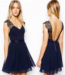 navy blue party dress cocktail dresses 2016