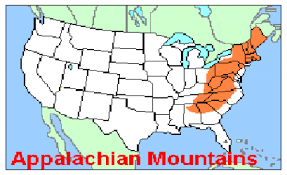appalachian mountains on map united states map appalachian mountains thefreebiedepot