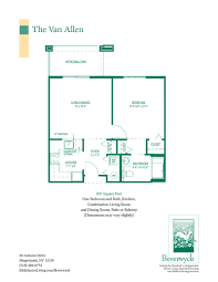 Floor Plans For Cottages by Spacious Floor Plans For Beverwyck U0027s Senior Apartments U0026 Cottages
