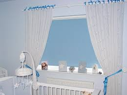 Curtains With Ribbon Ties Custom Made Ribbon Curtains With Roller Blind In The