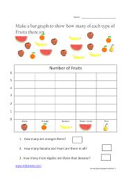 bar graph worksheets for 2nd grade worksheets