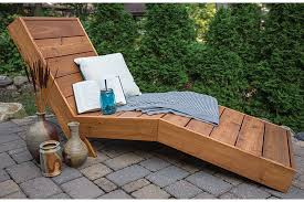 Building Outdoor Furniture What Wood To Use by How To Build A Comfortable Chaise Lounge For Outdoor Use
