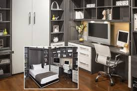 Bed And Computer Desk Combo Closet Works Home Office Guest Rooms With Murphey Beds Wall Beds