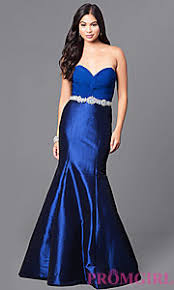 royal blue and turquoise long ombre dress promgirl