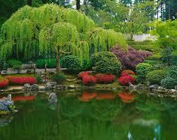 strolling pond japanese garden wall mural photographer mary liz