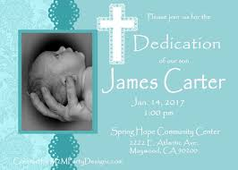 Invitation Cards For Dedication Of A Baby Baby Dedication Invitations Baby Blue Printable Print At