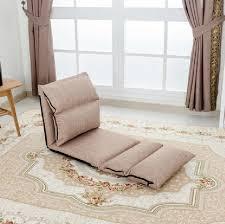 canape fauteuil étage canapé allongé chaise pliante réglable chaise de plancher un