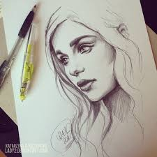 daenerys original drawing for sale by lady2 on deviantart