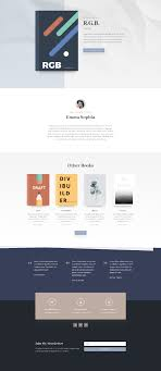 get layout from view get an eye catching free author layout pack for divi elegant