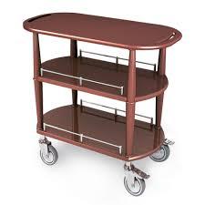 geneva 70531 spice veneer dining room service cart with 2